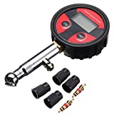 HITSAN 200psi LCD Digital Tire Tyre Air Pressure Gauge Tester for Car Auto