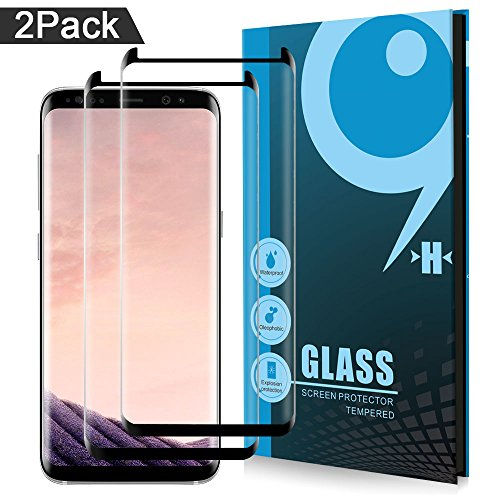 AOFU Glass Protector,Samsung Galaxy S8 Screen Protector, [Tempered Glass], Bubble Free-171204