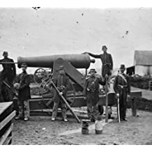 Arlington, Virginia. Soldiers of 4th New York heavy Artillery loading 24-pdr. a1