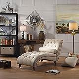 Rosevera Teofila Tufted Chaise Lounge Chair
