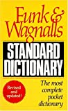 Funk and Wagnall's Standard Dictionary, HarperCollins Publishers Ltd. Staff, 0061007080
