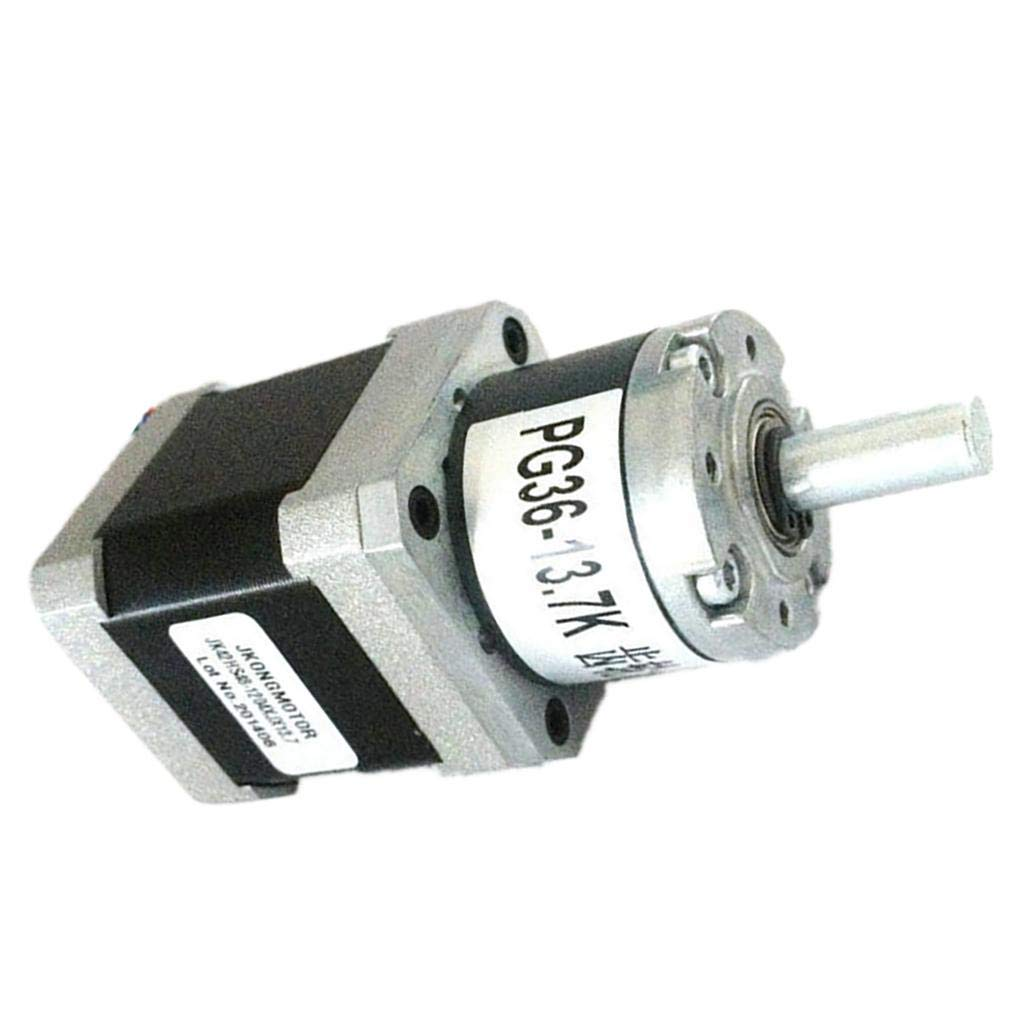 Baoblaze 42mm Geared Stepper Stepping Motor, 12V/0.3A 1000 RPM, 1.8 Degree Step Angle with 4 Lead for 3D Printer, CNC