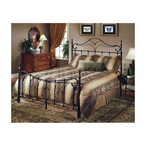 Hillsdale Furniture 1249BFR Bennett Bed Set with Rails, Full, Antique Bronze
