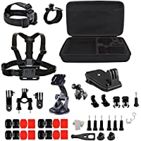 YFY 18-In-1 Basic Outdoor Sports Accessories Kit for GoPro Hero Cameras,SJ Cam, Xiaomi Yi,Sport Acion Camera