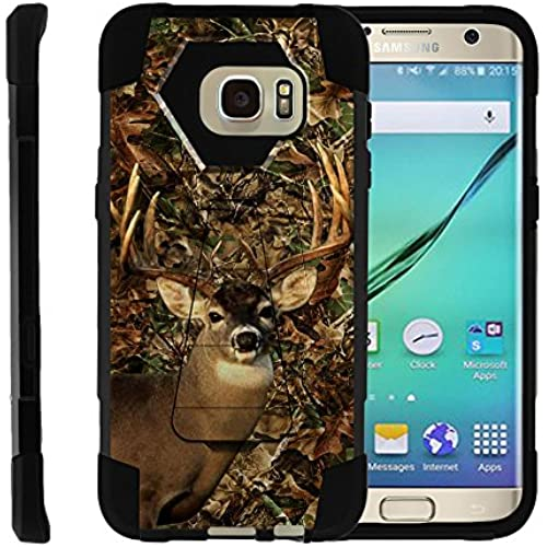 Samsung Galaxy S7 Edge | SHOCK Series Impact Hard Rubber Durable Unique Creative Cover, by Miniturtle - Deer Sales