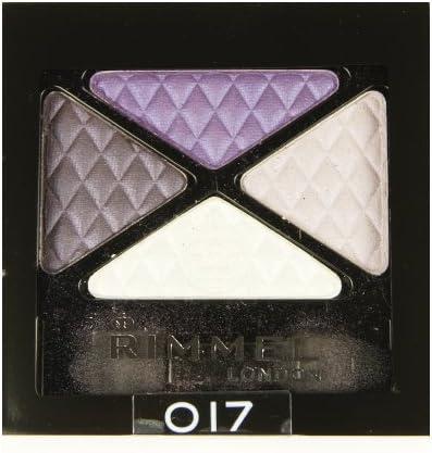 3 Pack) Rimmel London Glam – Sombra de Ojos Quad – oscuro firma: Amazon.es: Belleza