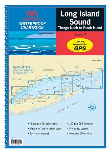 Maptech Long Island Sound WPB032504 (Waterproof Chart Book)