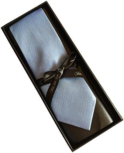 saks-fifth-avenue-striped-100-silk-mens-tie-3-wide-solid-light-blue