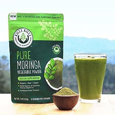 Kuli Kuli Pure Moringa Powder Single Serving Box, 20 Count (Pack of 12)