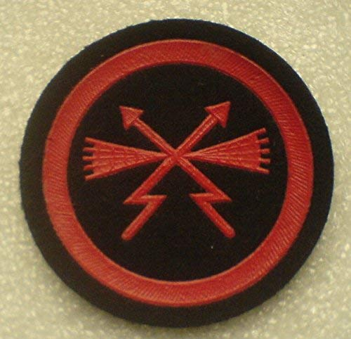 Specialist communication and radio equipment patch USSR Soviet Union Russian NAVY Military Uniform Cold War Era Type 1