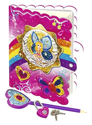Sparkletopia Diary Designer Set kit con diario Famosa