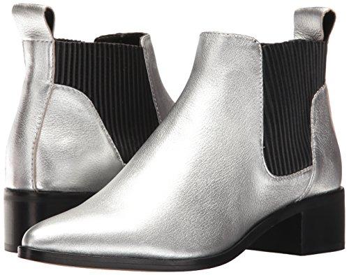 Dolce Vita Women's Macie Fashion Boot, Silver Leather, 7.5 Medium US by Dolce Vita (Image #6)