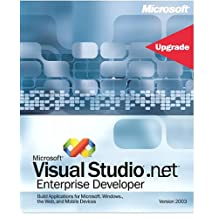 Microsoft Visual Studio .net Enterprise Developer 2003 Upgrade