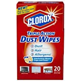 Clorox Triple Action Dust Wipes-20 Ct