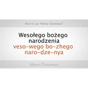 how to say merry christmas in polish - How To Say Merry Christmas