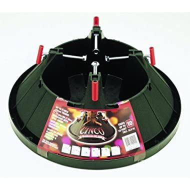 Good Tidings 7290001 Plastic Christmas Tree Stand for Trees Up To 10 Feet Tall