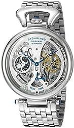 Stuhrling Original Men's 797.01 Legacy Analog Display Automatic Self Wind Silver Watch