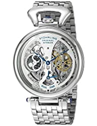 Stuhrling Original Men's 797.01 Legacy Analog Display Automatic Self Wind Silver Watch
