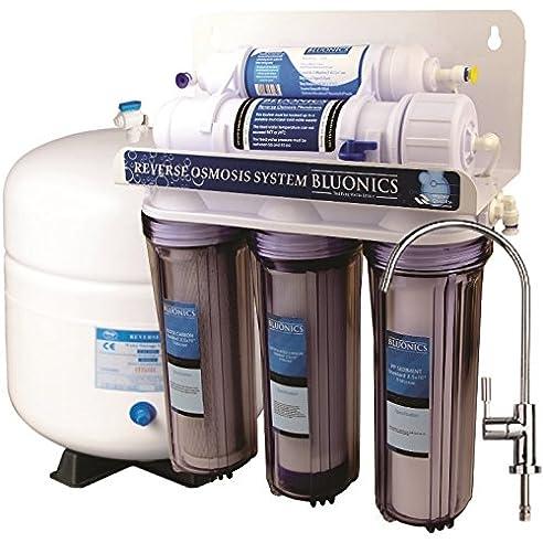 Beautiful Bluonics 5 Stage Selbsteinbau Umkehrosmose Trinkwasser Filter System RO Home  Luftreiniger Mit NSF Zertifiziert Membran Und
