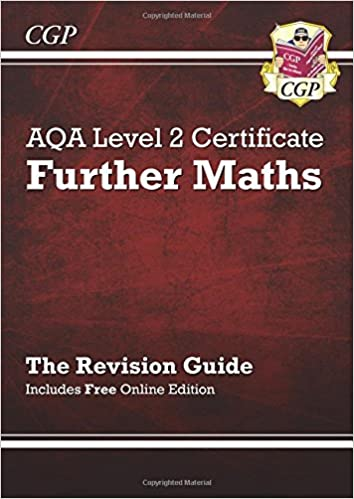 AQA Level 2 Certificate in Further Maths - Revision Guide