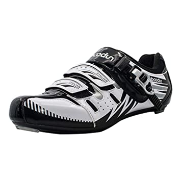 FancyU Zapatillas de Ciclismo Ciclo Respirable Bicicleta Deporte Hombre Otoño e Invierno Bicicleta al Aire Libre Vehículo de Carretera Respirable Zapatos de ...