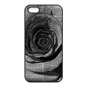 Vintage Flower Watercolor The Unique Printing Art Custom Phone Case for Iphone 5,5S,diy cover case ygtg586679 by mcsharks