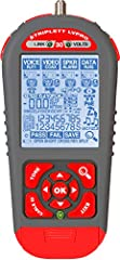 The LVPRO Series from Triplett is the tool that does it all! This industry leading cable tester is the one tester you need to run a variety of cable testing procedures including Cable Map, Ethernet Switch Port Blink, Speaker Pop, Cable Length...