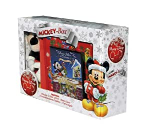 merry disney box topolino (2 dvd+libro+peluche) box set dvd Italian