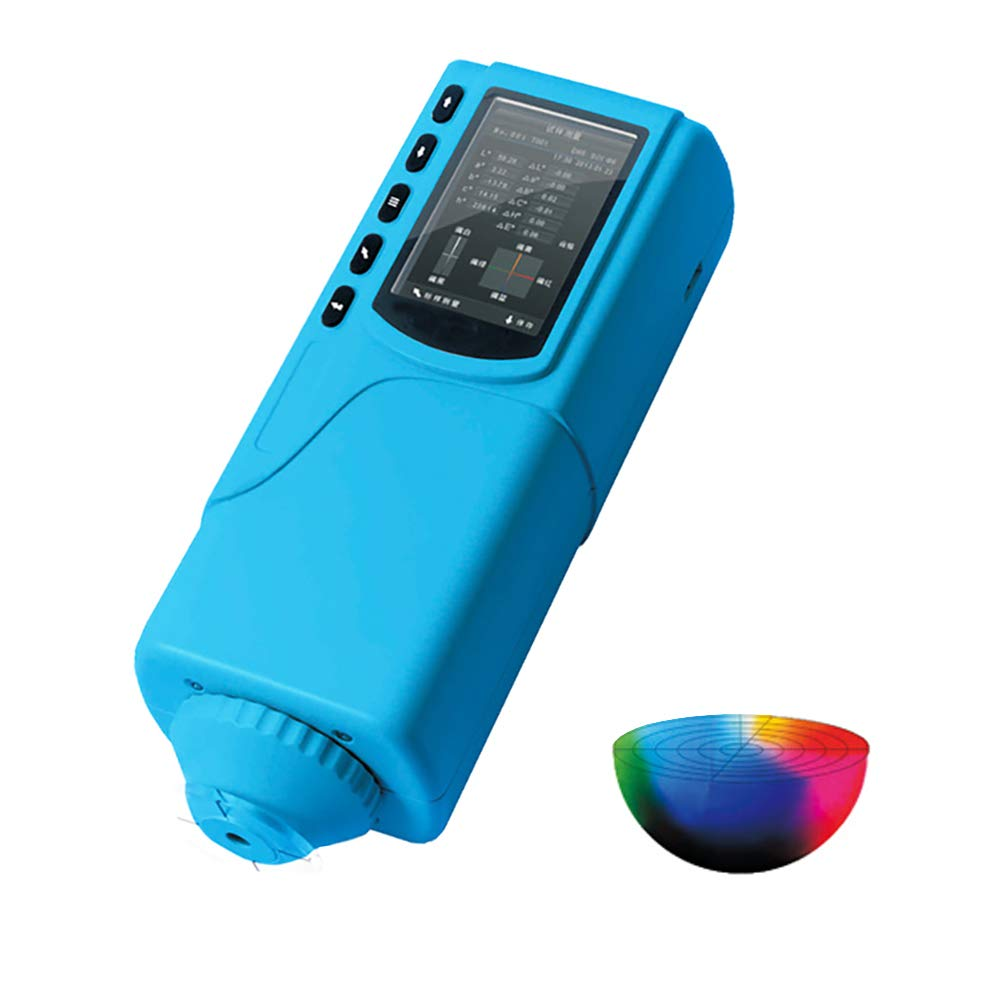 MXBAOHENG SC-10 Handheld Colorimeter Precision Color Difference Tester Meter Analyzer for Color Quality Control with Measuring Aperture 4mm