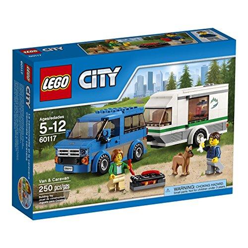 Caravan Set (250 Pieces, Van & Caravan Building Toy)