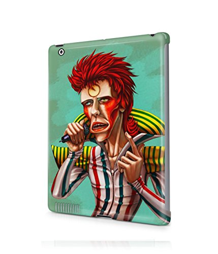 [Ziggy Stardust Costume David Bowie Plastic Snap-On Case Cover Shell For Apple iPad 2 / 3 / 4] (Kevin Mccallister Costume)