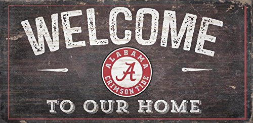 Alabama Crimson Tide Sign - NCAA Alabama Crimson Tide 12