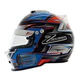 RZ-42 Graphic Orange/Blue K X-Large 62CM SNELL SA2015 Helmet by Zamp X-Large