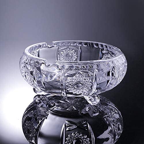 CQ 足灰皿付き透明ホームガラスの灰皿オフィスクリエイティブ