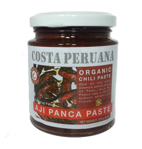 - Zócalo Peru Organic Aji Panca Paste, 8 Ounce