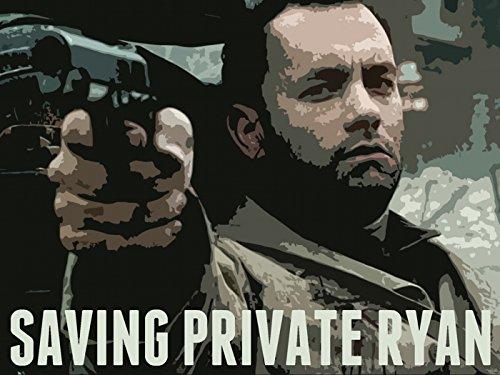 Saving Private Ryan Movie Art Painting Tom Hanks Pistol 16x1