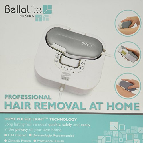 hair removal at home bellalite by silk n professional hair removal at home 30406
