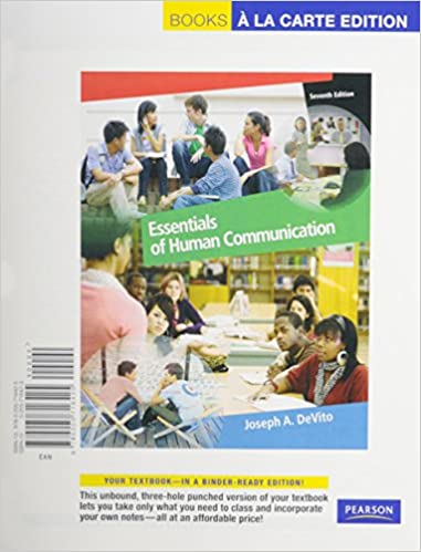 Amazon essentials of human communication books a la carte plus amazon essentials of human communication books a la carte plus mycommunicationlab access card package 7th edition 9780205826056 joseph a fandeluxe Choice Image