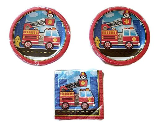 5 Alarm Fire Truck Party Bundle 9