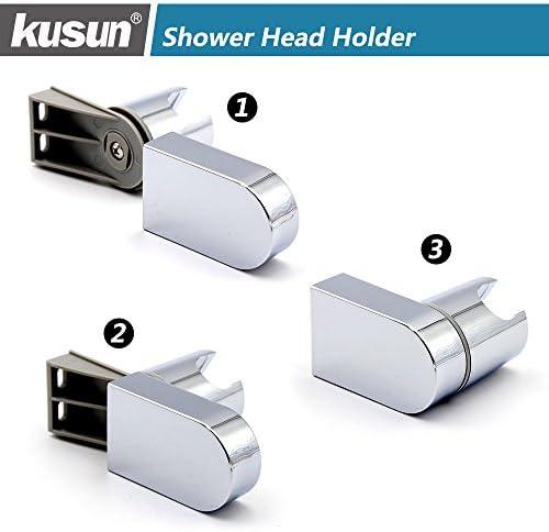 Kusun Soporte universal ajustable cabezal de ducha fijo montado ...