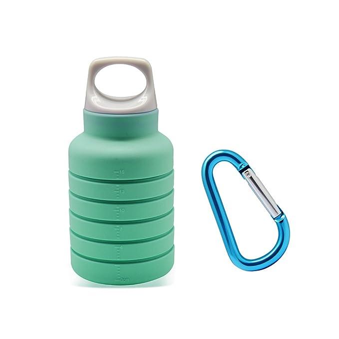 Amazon.com: Botella de agua plegable ThinsGo, plegable ...