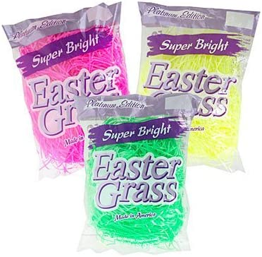 Pink and Green SG/_B00TNPTDAQ/_US Super Bright Platinum Edition Easter Basket Grass Yellow Set of 3 Bags