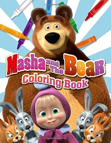 Masha And The Bear Coloring Book 50 Coloring Pages Funny Masha And Friends Coloring Books For Kids Ages 4 8 Vol 2 Halen Kathy 9781702069762 Amazon Com Books