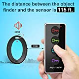 Key Finder, ldcx Wireless RF Item Locator Anti Lost Keys Pet Finder Tracker Tag Alarm Reminder,1 RF Transmitter 4 Receivers,Phone Pet Cat Dog Keychain Wallet Luggage Tracking Remote Finders