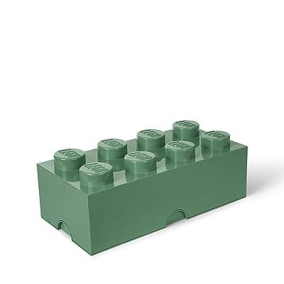 Room Copenhagen 40041747 Stackable Storage Box, Sand Green: Home & Kitchen