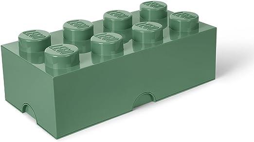 Room Copenhagen 8 Lego - Caja de ladrillo, color verde arena ...