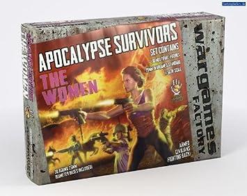 Wargames Factory 28mm Apocalypse Survivors: The Women # WGF-DF004: Amazon.es: Electrónica