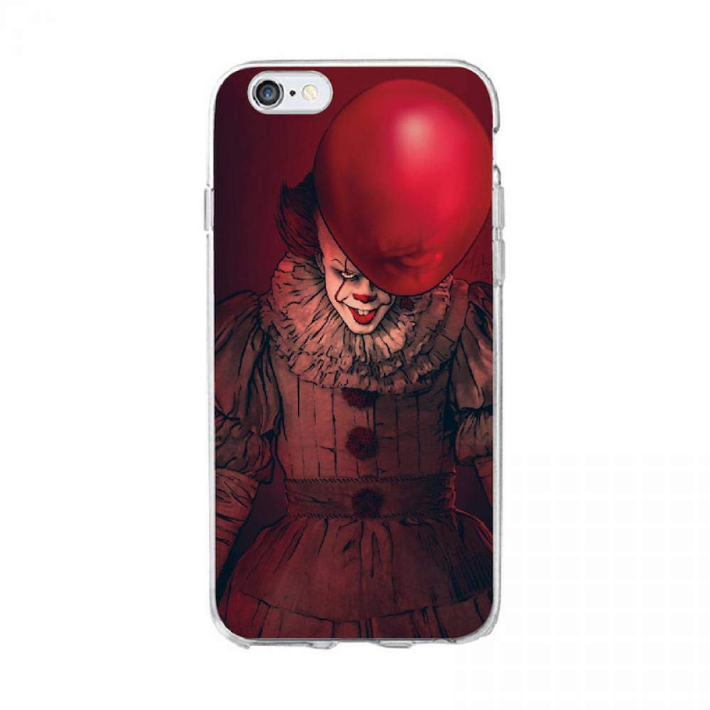 Pennywise Clown Float It Cartoon Comic Soft Clear Phone Case Cover Fundas Coque for iPhone 7 7Plus 6 6S 8 8PLUS X XS Max 5 for Samsung S7