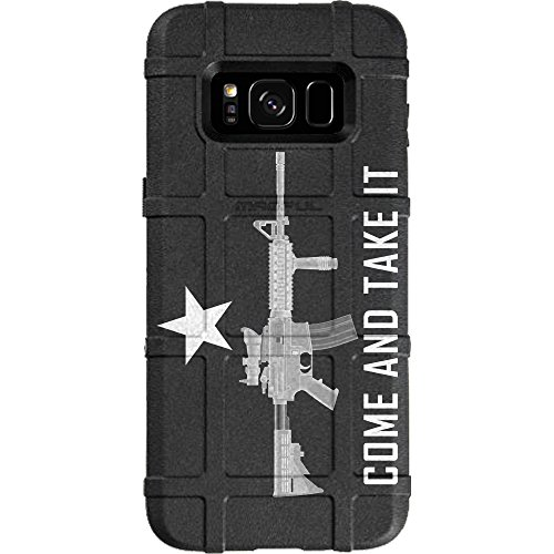 LIMITED EDITION - Authentic Made in U.S.A. Magpul Industries Field Case for Samsung Galaxy S8 (Not for Samsung S8 Active OR S8 PLUS) Come and Take It - It And Come Take Magpul