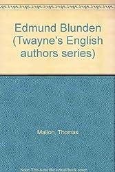 Edmund Blunden (Twayne's English authors series)